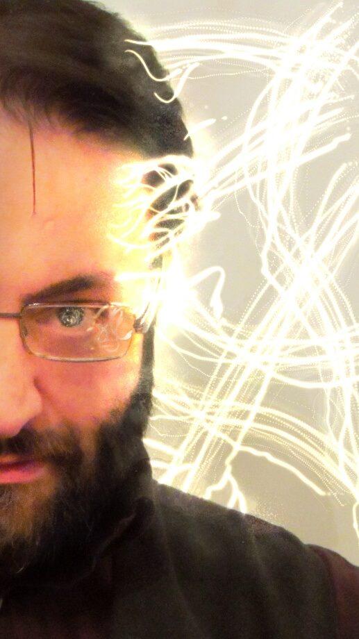 mentalista Gianluca Di Virgilio alla libreria i Luoghi dell'Anima