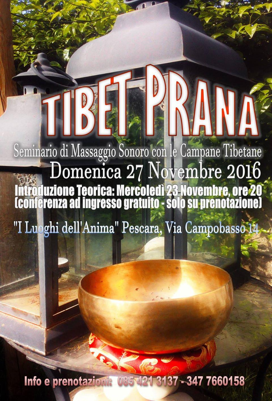 Campane Tibetane: introduzione teorica e seminario a i Luoghi dell'Anima Pescara
