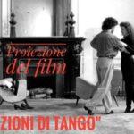 Proiezione del Film Lezioni di Tango-luoghi-anima con pablo veron - libreria i luoghi dell'anima a pescara