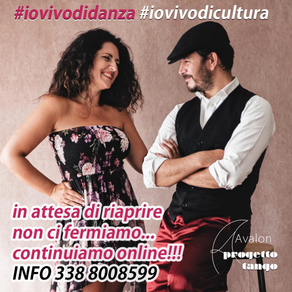 Lezioni di tango online in attesa di riaprire